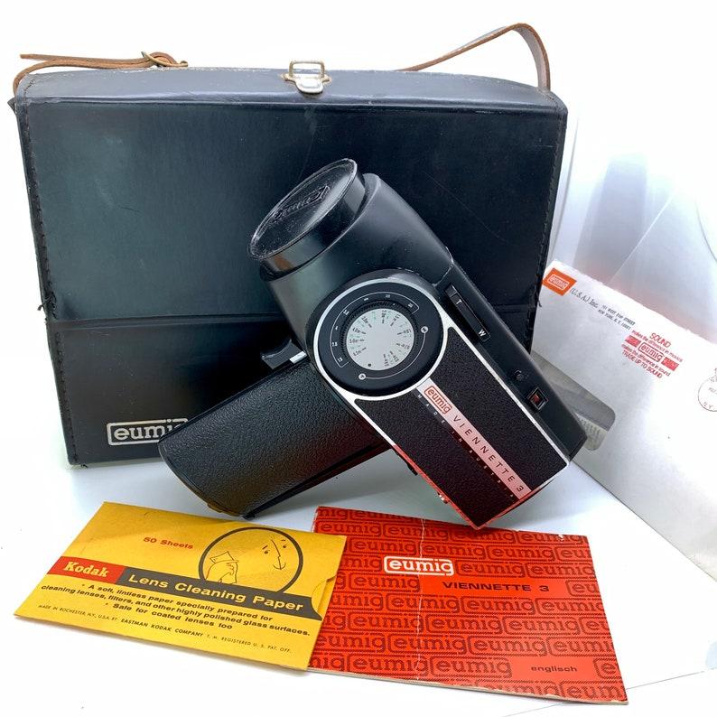 Vintage Eumig Super 8 Camera Viennette 3 Video Camera Film image 0