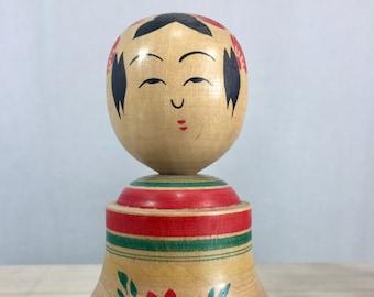 Vintage Japanese Kokeshi Doll Folk Art