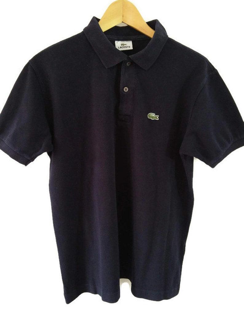 Classic Lacoste Black Polo Size 4