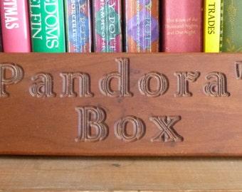 Pandora's box sign