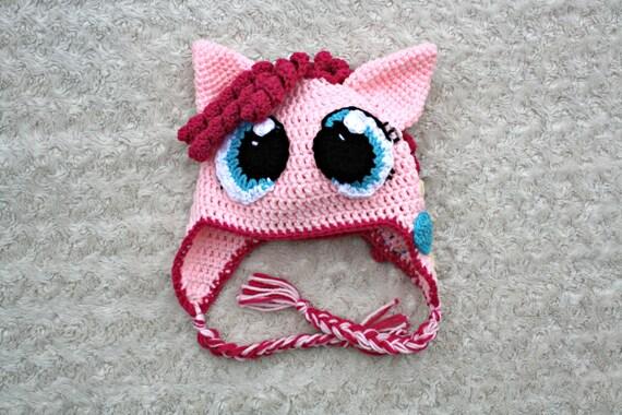 My Little Pony Crochet Hat Pinkie Pie Twilight Sparkle Etsy