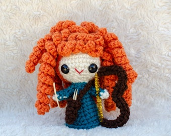 Merida (Brave) Amigurumi Crochet Doll