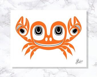 Crab - Fine Art Print - Open Edition - Northwest Coast Art
