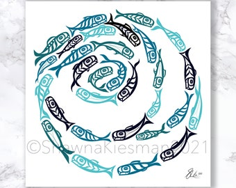 Circle of Life - Open Edition - Northwest Coast Art