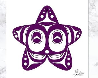 Starfish - Open Edition - Northwest Coast Art
