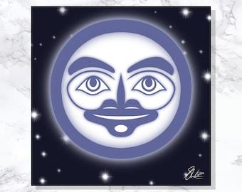 Lady Moon - Fine Art Print - Open Edition - Northwest Coast Art
