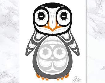 Penguin - Fine Art Print - Open Edition - Northwest Coast Art