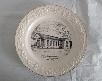 Sardinia South Carolina Presbyterian Church (1909-1959) Collector's Plate Homer Laughlin