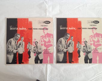 45 RPM Capitol Records Voices in Modern The Four Freshmen Part 1 and 2 1950s