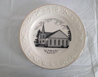 Olanta South Carolina Presbyterian Church (Organized 1867) Collector Plate World Wide Art Studios