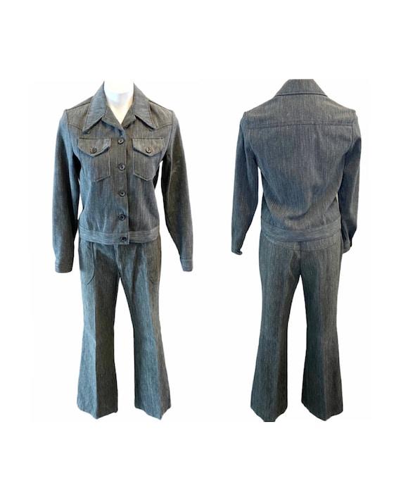 Vintage 1970s Lady Wrangler Sportswear Denim Jack… - image 1