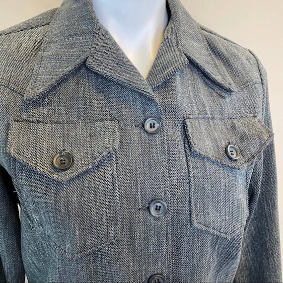 Vintage 1970s Lady Wrangler Sportswear Denim Jack… - image 3