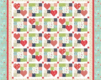 Heart to Heart 3 PDF Quilt Pattern