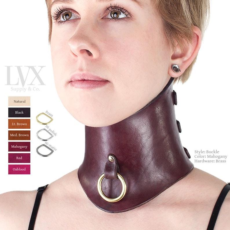 Femdom loosing a collar