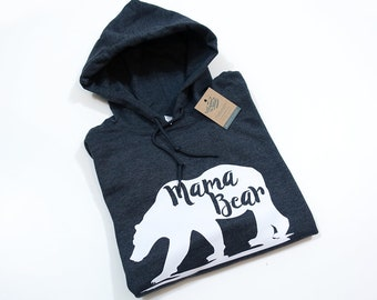 Mama BearHoodie many colours hipster clothing