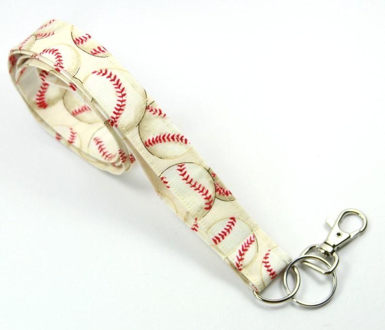 Smycz Tkaniny Baseball Kij Tkaniny Baseball Nauczycieli Etsy