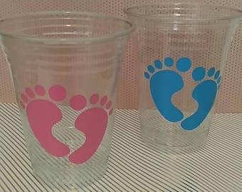 Gender Reveal Party Cups