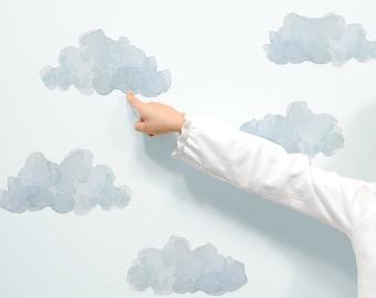 Extra Clouds - Fabric Wall Decal - Nursery Daydreams - Mej Mej