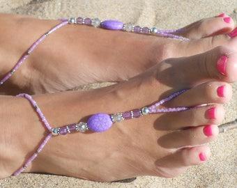Barefoot Beach Sandal, Women's Barefoot Sandal, Barefoot Beach Jewelry, Wedding Barefoot Sandal, Bridesmaid Barefoot Sandal, Foot Jewelry