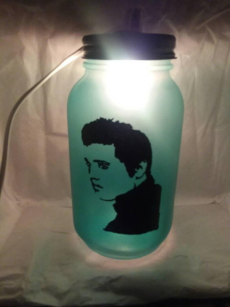 Elvis Presley Table Lamp