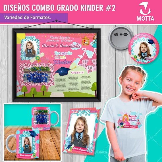 Digital Graduation Kindergarten Diploma Preschool Dip Etsy