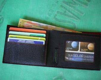 Inner Tube 4 card & photo wallet, Vegan Wallet, Upcycled Wallet, Fair Trade Wallet,