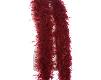 """Trim//Hats//Costume 20 Inches Peacock Hurl Fringe 6-8/"""" in height Feathers Craft"""