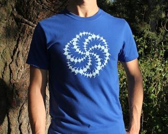 Triskelion - Crop Circle T-Shirt