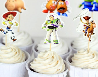 Toy story cupcake | Etsy