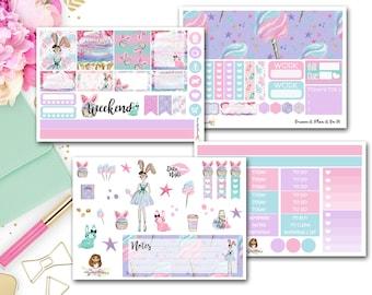 Cotton Candy Kisses Horizontal Kit