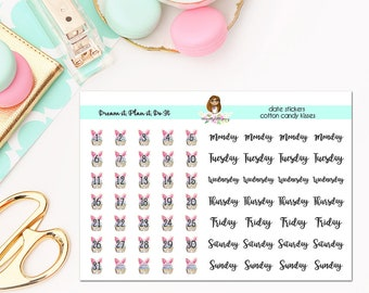 Date Covers-Cotton Candy Kisses