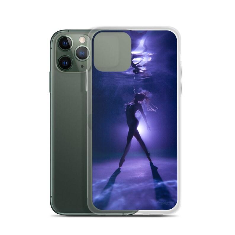 iPhone Case /'Purple Tip Toes/' Hannah Mermaid
