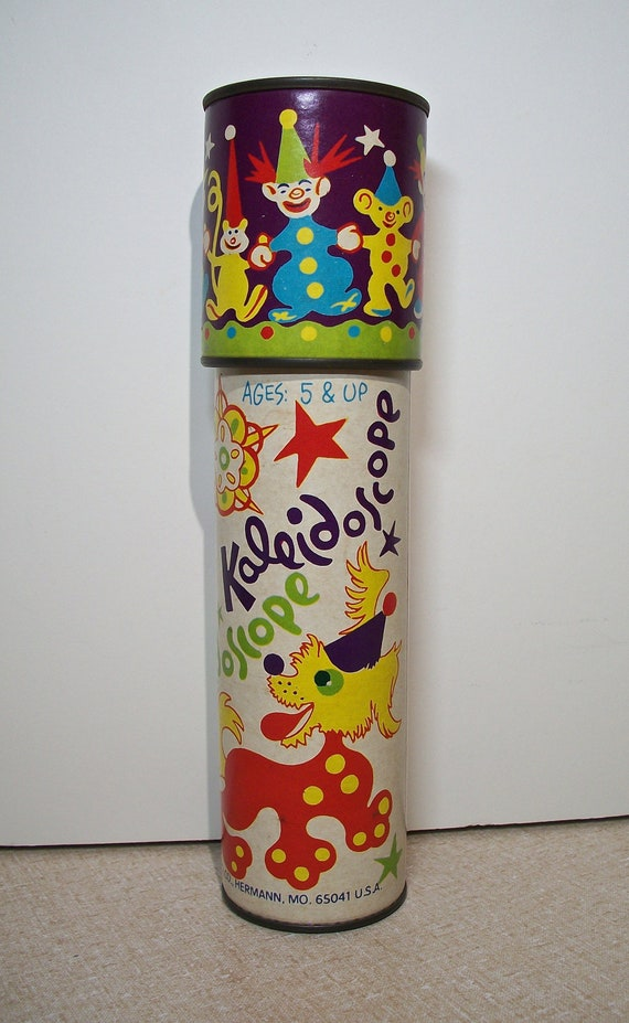 Steven Kaleidoscope! Children's Toy, Clowns, No UPC Bars, Steven  Manufacturing Company, Hermann, Missouri, Copyright 1980, Ages 5 & Up, Fun