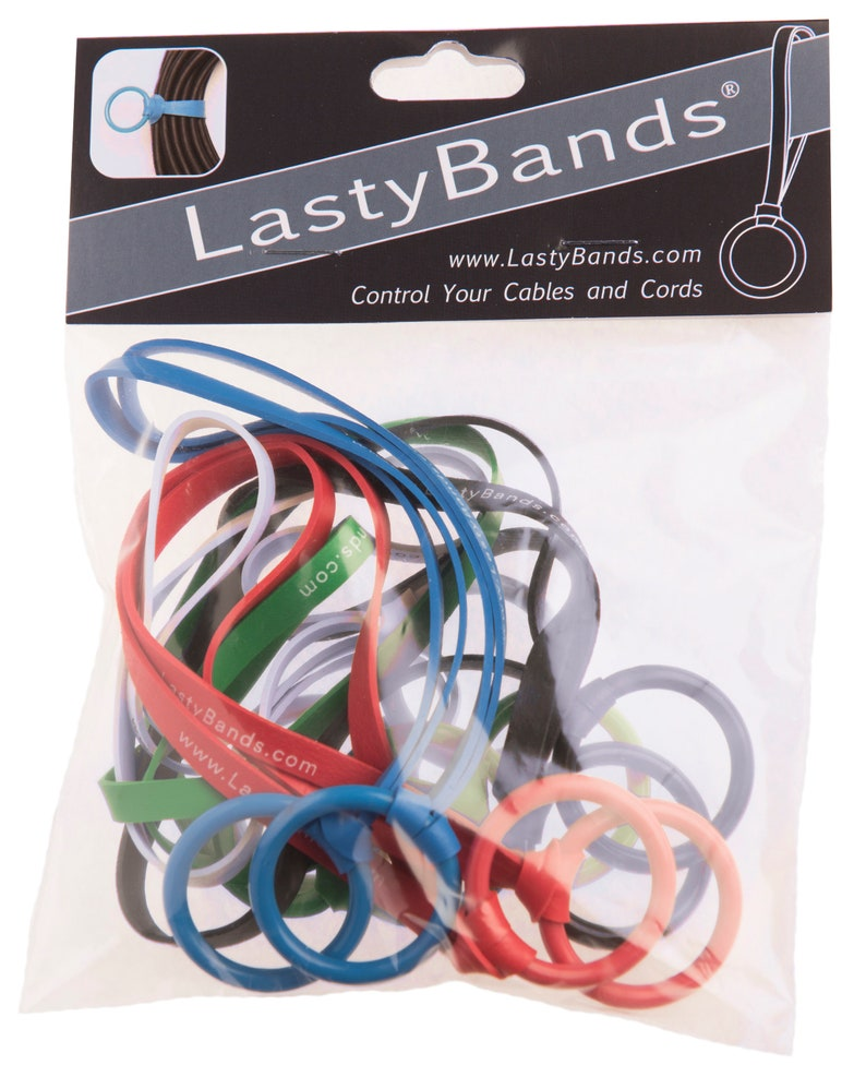 LastyBands: 6 Handy and Reusable Elastic Fasteners for image 2