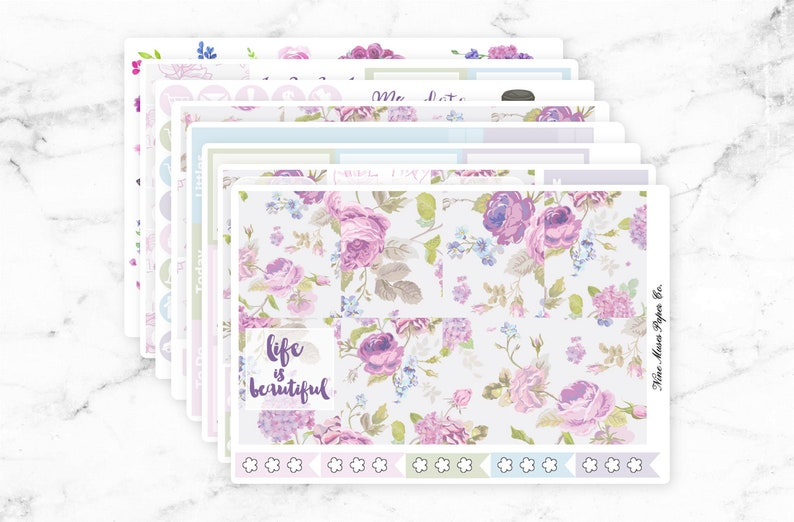 Life is Beautiful Planner Stickers