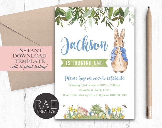 A3 Personalised Beatrix Potter Peter Rabbit Character table Planner