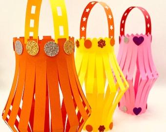 Lantern Craft Kit - Makes 5 lanterns