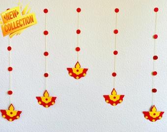 Diwali Diya Decoration DIY craft Kit | Festival Backdrop | Diwali Gift for Kids, Nieces & Nephews