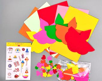 Diwali Card Craft Kit - Diya