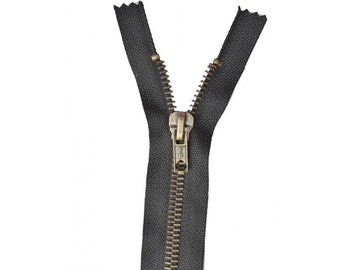 Zipper Z14 metallic color black 460