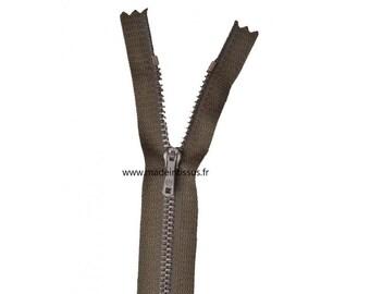 Zipper Z13 metallic color Walnut stain 990