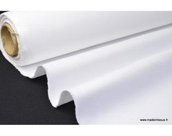 Twill cotton medium white 260 gr/m²