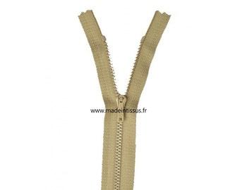 Zipper Z13 metallic color Beige 904