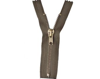 Zipper Z14 metallic color Walnut stain 990
