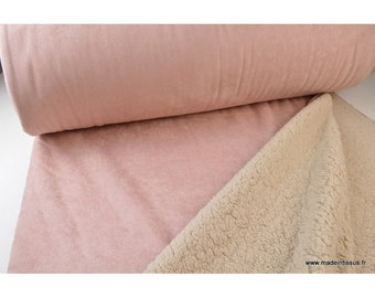 Heavy suede towards .x1m pink sheep