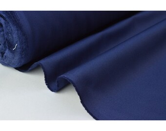 Twill cotton medium Navy 260 gr/m²