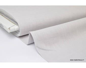Pearl .x1m gray linen fabric