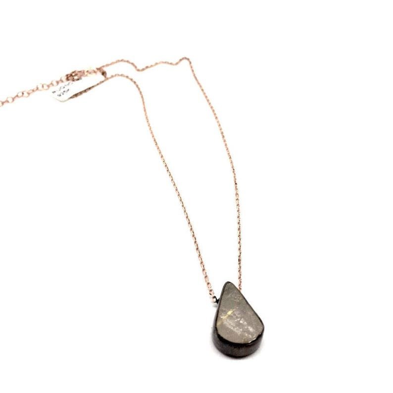 Pendant Necklace Birthday gifts Gift Box Included increase mental focus Women/'s jewellery 925 Sterling Silver Rutilated Quartz Stone