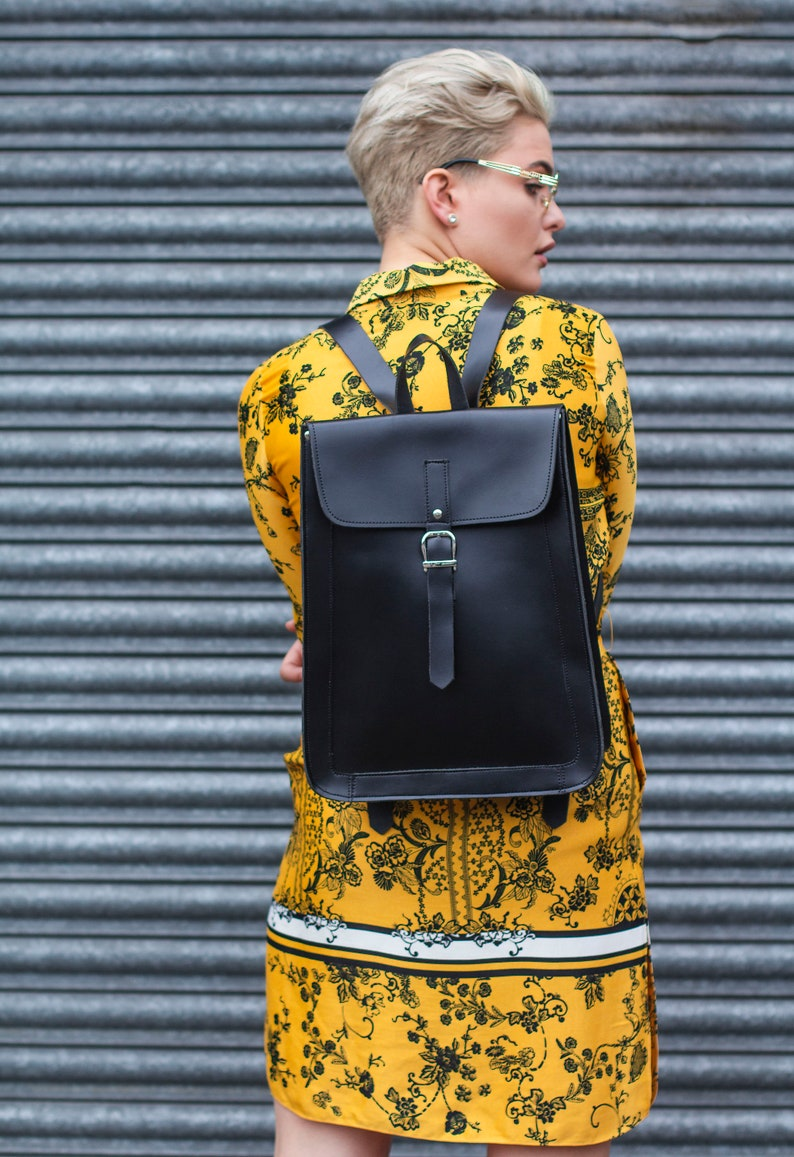 Exclusive Edition Backpack In Matte Black Leather