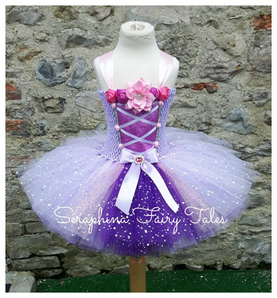 Girl/'s Cupcake Fairy Pink /& Lilac Dress With Cupcake Bag Fancy Dress Costume